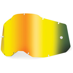 100% Anti-Fog Replacement Lenses Gen2 gold/mirror